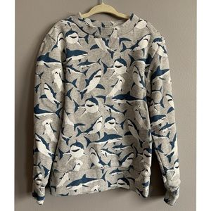 H&M Boys Shark Sweatshirt